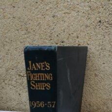 Libros de segunda mano: JANE'S FIGHTING SHIPS 1956 1957. Lote 142905308
