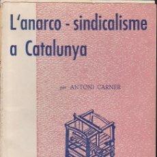 Libros de segunda mano - EPISODIS DE LA HISTORIA L'ANARCO-SINDICALISME A CATALUNYA - 143142014