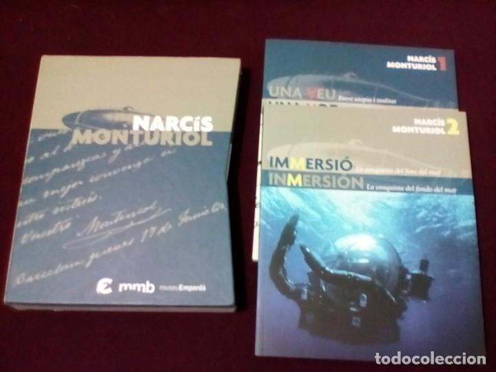 NARCIS MONTURIOL, 2 LIBROS + CD + FUNDA EXTERIOR MUSEO EMPORDA TEXTO CASTELLANO Y CATALÁN (Libros de Segunda Mano - Historia Moderna)