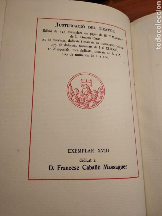 Libros de segunda mano: HISTORIA DE MONTSERRAT. EJEMPLAR Nº 18 . ALBAREDA ANSELM. M. DE MONTSERRAT. 1945. - Foto 2 - 143226973
