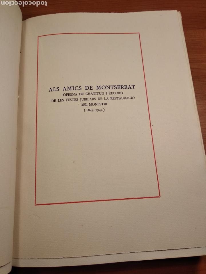 Libros de segunda mano: HISTORIA DE MONTSERRAT. EJEMPLAR Nº 18 . ALBAREDA ANSELM. M. DE MONTSERRAT. 1945. - Foto 4 - 143226973