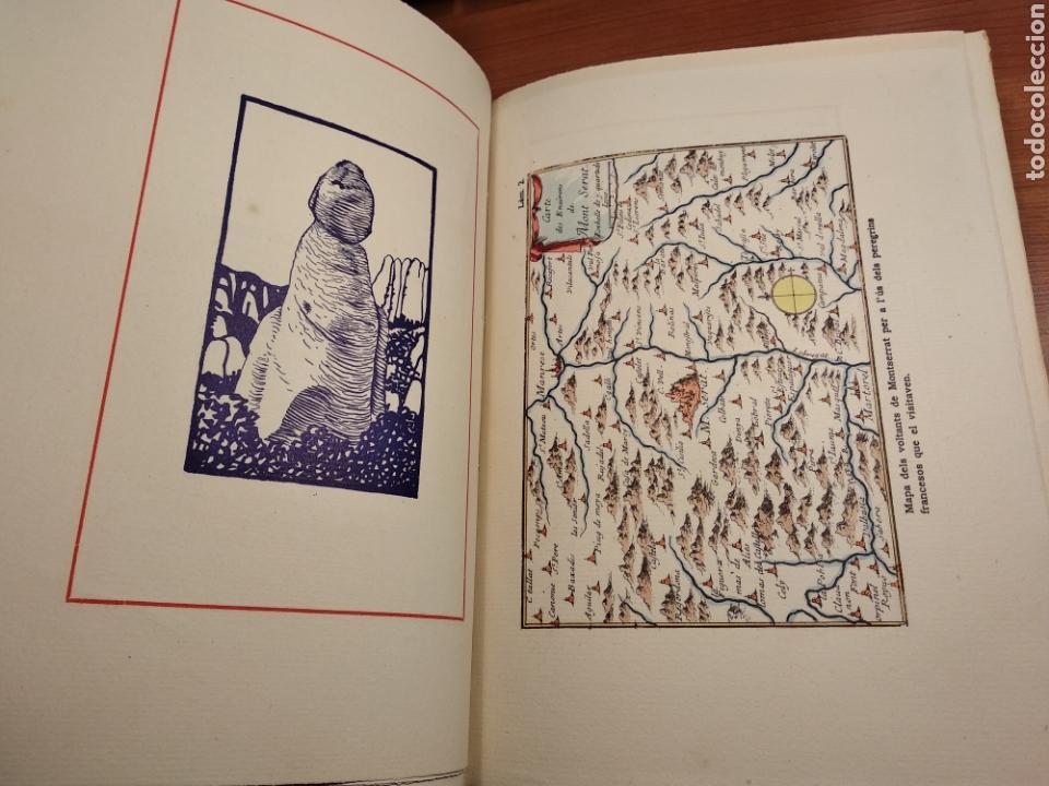 Libros de segunda mano: HISTORIA DE MONTSERRAT. EJEMPLAR Nº 18 . ALBAREDA ANSELM. M. DE MONTSERRAT. 1945. - Foto 7 - 143226973