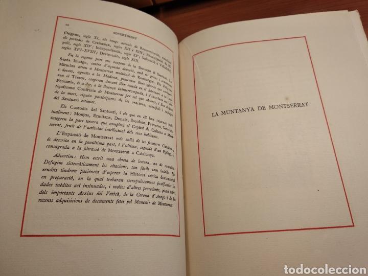 Libros de segunda mano: HISTORIA DE MONTSERRAT. EJEMPLAR Nº 18 . ALBAREDA ANSELM. M. DE MONTSERRAT. 1945. - Foto 6 - 143226973