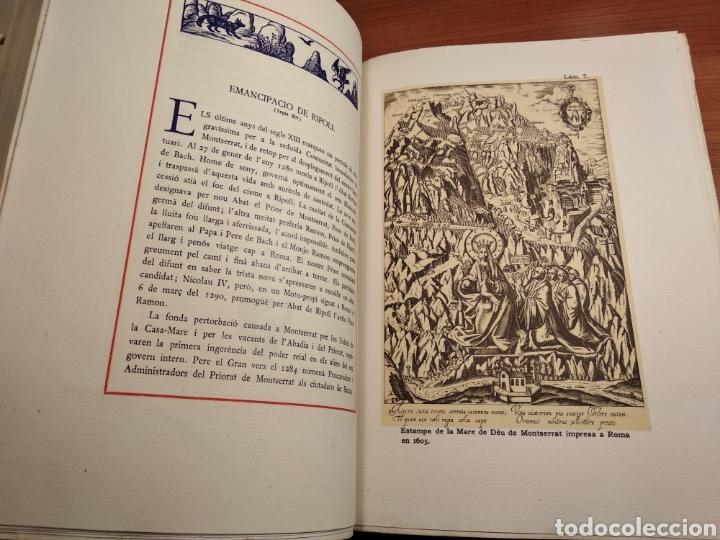 Libros de segunda mano: HISTORIA DE MONTSERRAT. EJEMPLAR Nº 18 . ALBAREDA ANSELM. M. DE MONTSERRAT. 1945. - Foto 9 - 143226973