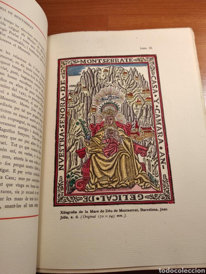Libros de segunda mano: HISTORIA DE MONTSERRAT. EJEMPLAR Nº 18 . ALBAREDA ANSELM. M. DE MONTSERRAT. 1945. - Foto 11 - 143226973
