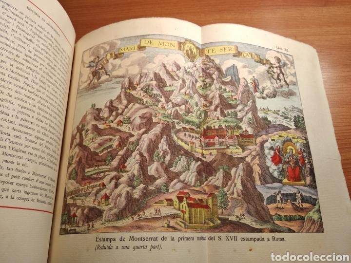 Libros de segunda mano: HISTORIA DE MONTSERRAT. EJEMPLAR Nº 18 . ALBAREDA ANSELM. M. DE MONTSERRAT. 1945. - Foto 12 - 143226973