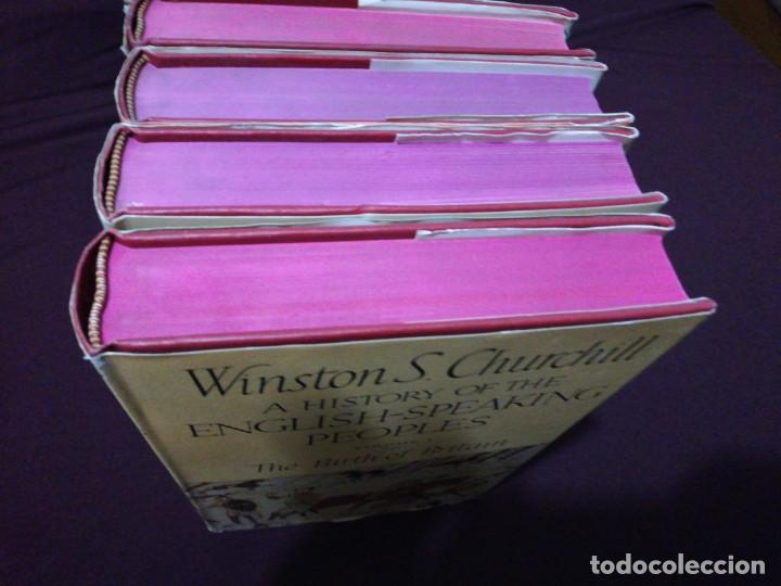Libros de segunda mano: Winston s. Churchill, a history of the English-speaking peoples, complete 4 volume - Foto 4 - 143229162