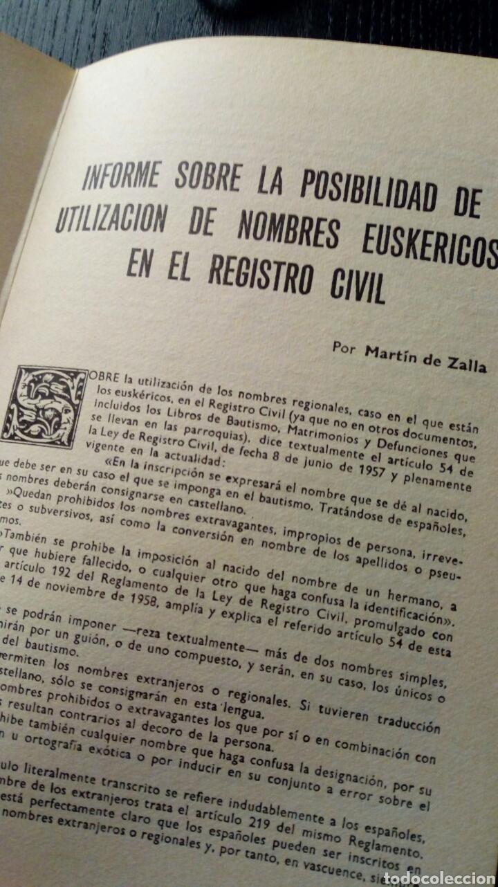 Libros de segunda mano: 100 LIBROS VASCOS FUNDAMENTALES Y DICCIONARIO DE NOMBRES EUSKERICOS (Bilbao, 1970) - Foto 3 - 143694840