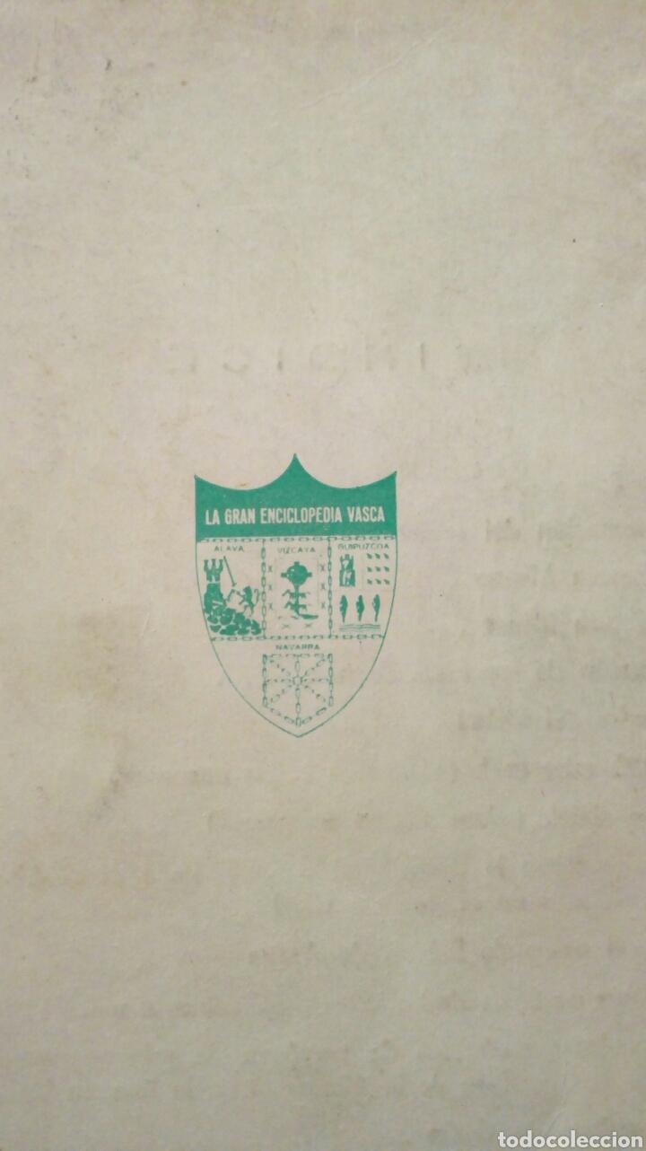 Libros de segunda mano: 100 LIBROS VASCOS FUNDAMENTALES Y DICCIONARIO DE NOMBRES EUSKERICOS (Bilbao, 1970) - Foto 4 - 143694840