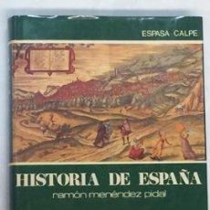 Libros de segunda mano: EL SIGLO XVI. ECONOMÍA, SOCIEDAD, INSTITUCIONES - HISTORIA DE ESPAÑA MENÉNDEZ PIDAL TOMO XIX.. Lote 144196278