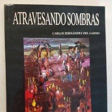Libros de segunda mano: ATRAVESANDO SOMBRAS, CARLOS FERNANDEZ DEL GANSO, GRUPO CERO 1998, LIBRO. Lote 144506418