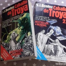 Libros de segunda mano: LIBRO - CABALLO DE TROYA ( 1 Y 2 ) - J.J. BENITEZ - EDITORIAL PLANETA -. Lote 144918398