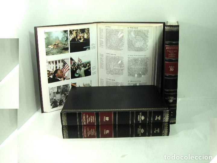 AUDIO LIBRO SONOBOX -TOMO AÑOS 70 - PLAZA Y JANES 1985 DECENIUM - TEXTO IMAGENES Y SONIDO DECADA (Libros de Segunda Mano - Historia Moderna)