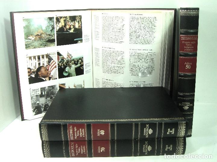 Libros de segunda mano: AUDIO LIBRO SONOBOX -TOMO AÑOS 70 - PLAZA Y JANES 1985 DECENIUM - TEXTO IMAGENES Y SONIDO decada - Foto 2 - 145212454