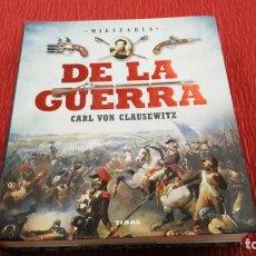 Libros de segunda mano: DE LA GUERRA - CARL VON CLAUSEWITZ. Lote 147204566