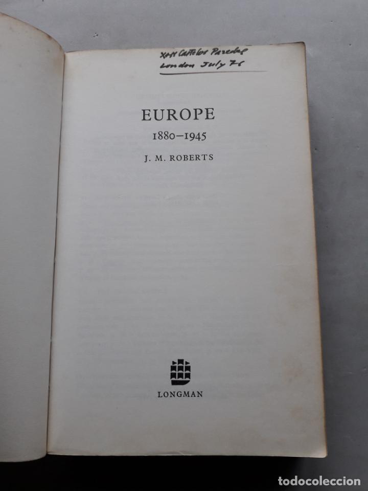 Libros de segunda mano: Europe 1880-1945. A General History of Europe. J.M. Roberts. - Foto 2 - 148164822