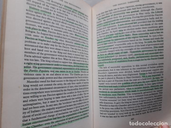 Libros de segunda mano: Europe 1880-1945. A General History of Europe. J.M. Roberts. - Foto 5 - 148164822