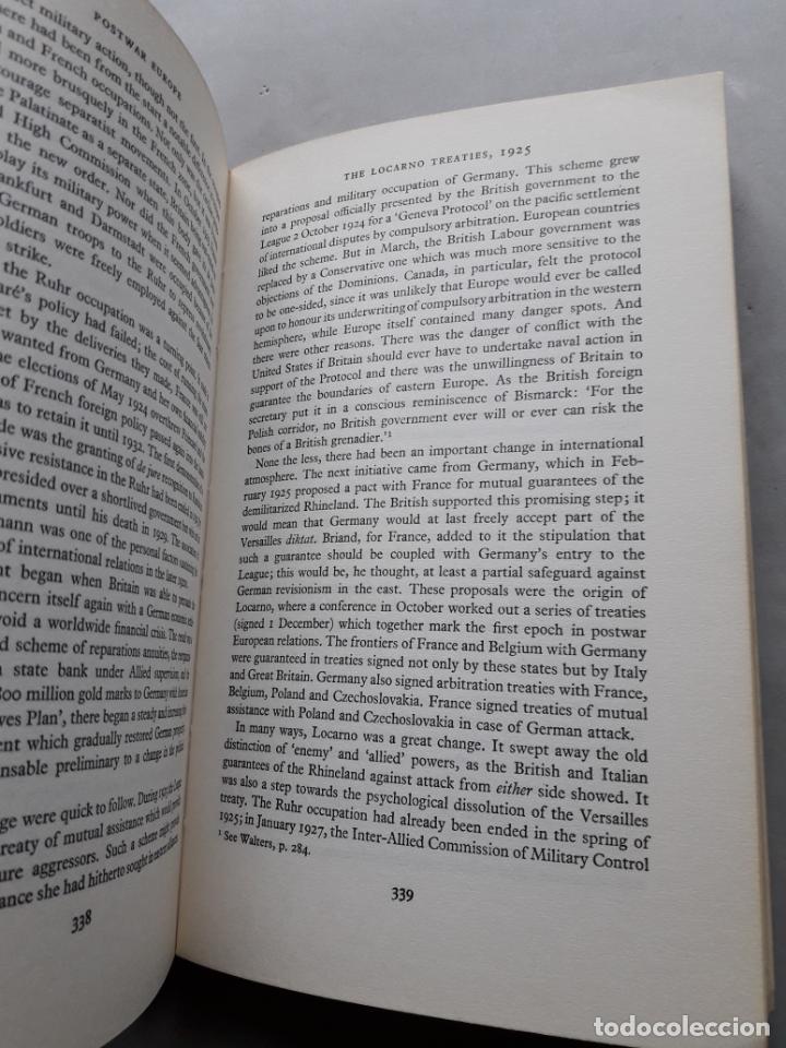 Libros de segunda mano: Europe 1880-1945. A General History of Europe. J.M. Roberts. - Foto 7 - 148164822