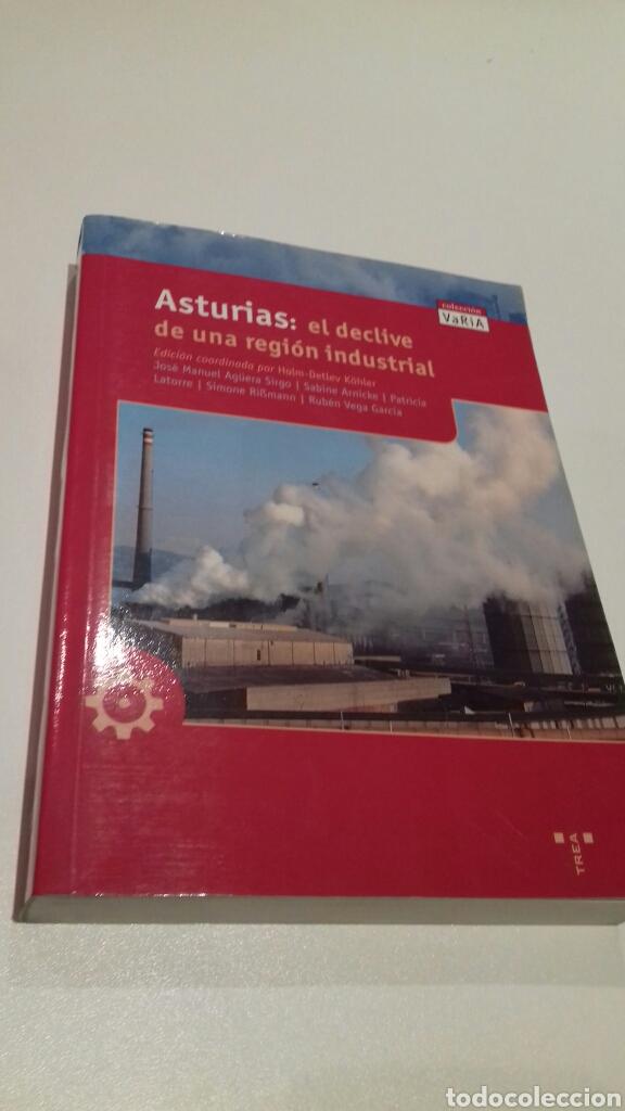 ASTURIAS. EL DECLIVE DE UNA REGION INDUSTRIAL. (Libros de Segunda Mano - Historia Moderna)
