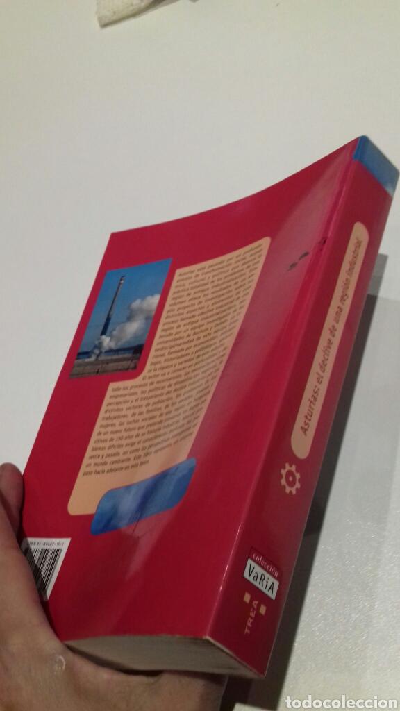 Libros de segunda mano: Asturias. El declive de una region industrial. - Foto 2 - 148216086