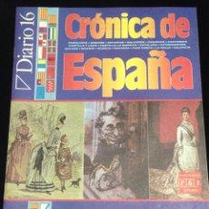 Libros de segunda mano: DIARIO 16,CRONICA DE ESPAÑA-FASCICULO 61.. Lote 148902805