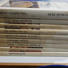 Libros de segunda mano: HISTORIA UNIVERSAL ILUSTRADA - DEBATE - 8 TOMOS + ATLAS - COMPLETA - ARM06. Lote 149359534
