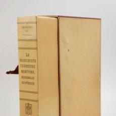Libros de segunda mano: LA MAQUINISTA TERRESTRE Y MARÍTIMA, PERSONAJE HISTÓRICO, ALBERTO DEL CASTILLO, 1955, BARCELONA. . Lote 150341266