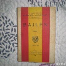 Libros de segunda mano: BAILÉN;B.PÉREZ GALDÓS;HERNANDO 1961. Lote 150940194