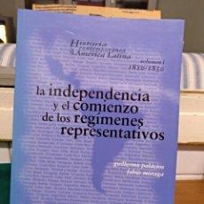 Livros em segunda mão: LA INDEPENDENCIA Y EL COMIENZO... SÍNTESIS 2003. Lote 151551134