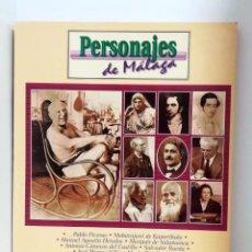 Libros de segunda mano: PERSONAJES DE MÁLAGA - JULIAN SESMERO RUIZ - DIARIO SUR - 2000. Lote 146656958