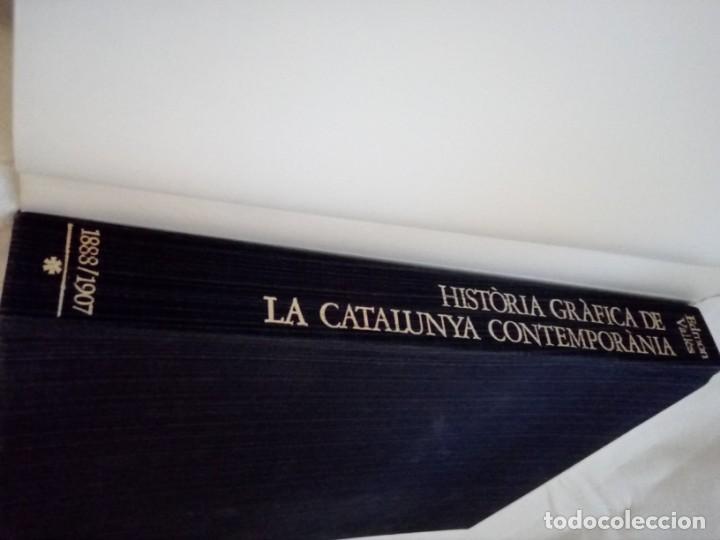 Libros de segunda mano: HISTORIA GRÁFICA DE LA CATALUNYA CONTEMPORÁNIA (EDMON VALLÉS. EDICIONS 62) CONMEMORACIÓN 1474 - 1974 - Foto 6 - 152322982