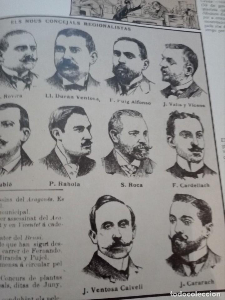 Libros de segunda mano: HISTORIA GRÁFICA DE LA CATALUNYA CONTEMPORÁNIA (EDMON VALLÉS. EDICIONS 62) CONMEMORACIÓN 1474 - 1974 - Foto 12 - 152322982