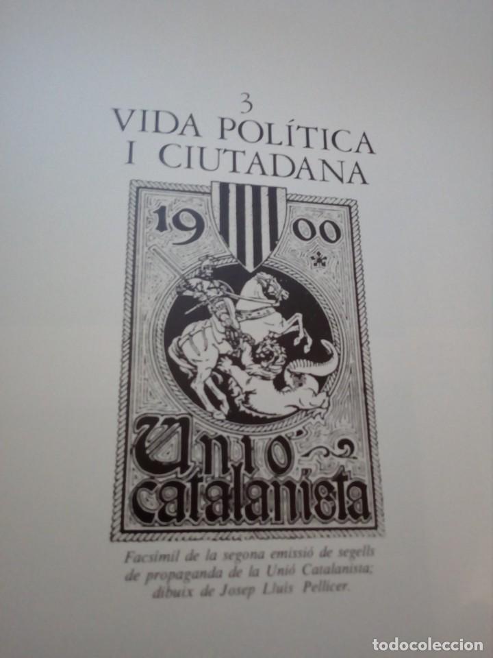 Libros de segunda mano: HISTORIA GRÁFICA DE LA CATALUNYA CONTEMPORÁNIA (EDMON VALLÉS. EDICIONS 62) CONMEMORACIÓN 1474 - 1974 - Foto 13 - 152322982