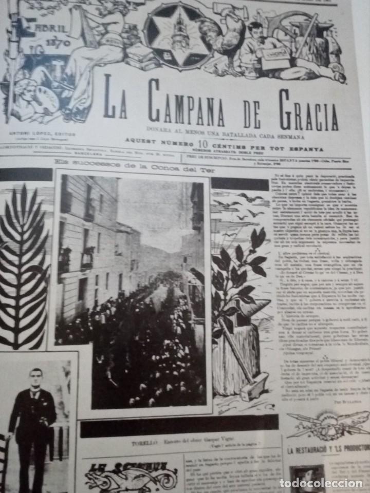 Libros de segunda mano: HISTORIA GRÁFICA DE LA CATALUNYA CONTEMPORÁNIA (EDMON VALLÉS. EDICIONS 62) CONMEMORACIÓN 1474 - 1974 - Foto 15 - 152322982