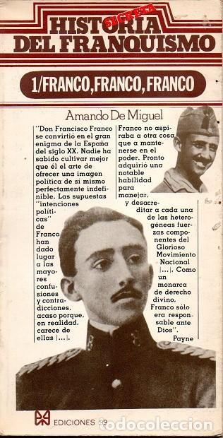 HISTORIA SECRETA DEL FRANQUISMO - FRANCO, FRANCO, FRANCO (Libros de Segunda Mano - Historia Moderna)