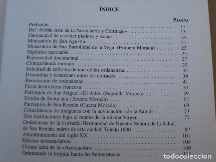 Libros de segunda mano: HISTORIA VIRGEN DE LA SALUD - TOLEDO. - Foto 2 - 153543046