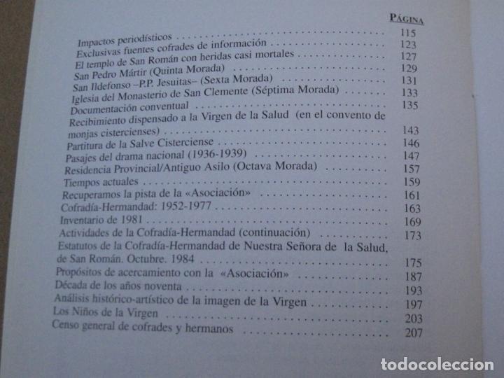 Libros de segunda mano: HISTORIA VIRGEN DE LA SALUD - TOLEDO. - Foto 3 - 153543046