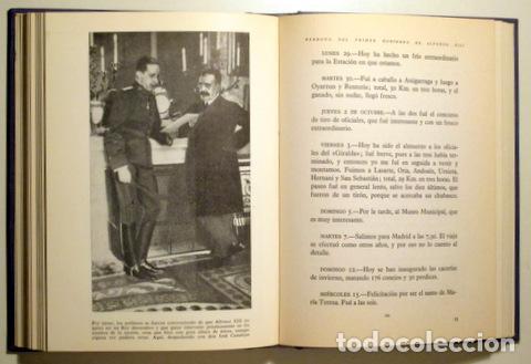 Libros de segunda mano: Alfonso XIII - DIARIO ÍNTIMO DE ALFONSO XIII - Madrid 1961 - Ilustrado - Foto 2 - 153617848