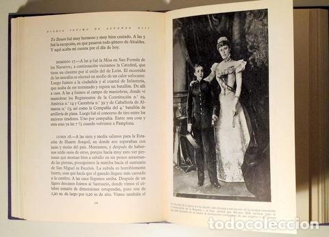 Libros de segunda mano: Alfonso XIII - DIARIO ÍNTIMO DE ALFONSO XIII - Madrid 1961 - Ilustrado - Foto 4 - 153617848
