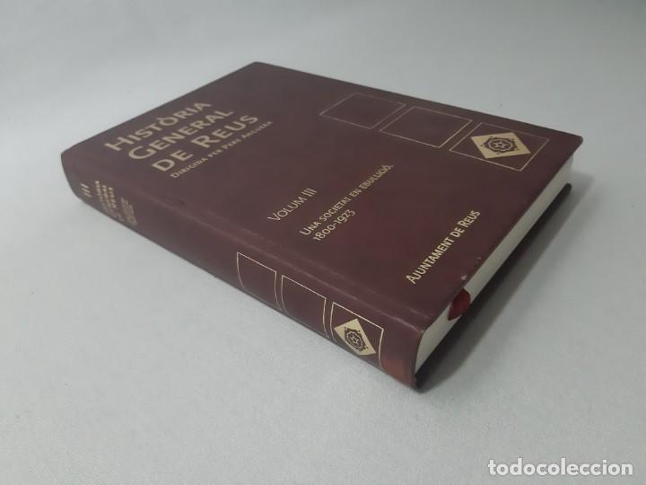 Libros de segunda mano: Història general de Reus volum III - Anguera, Pere - Foto 3 - 153100484