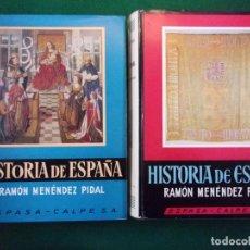 Libros de segunda mano: LA ESPAÑA DE LOS REYES CATÓLICOS (1474-1516) / TOMO XVII - VOL.1Y2 / RAMÓN MENÉNDEZ PIDAL / 1969. Lote 154222822