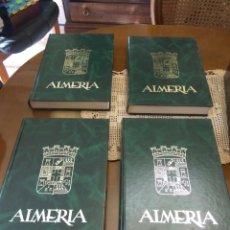 Libros de segunda mano: ALMERÍA HISTORIA GENERAL 4 TOMOS. Lote 154503478