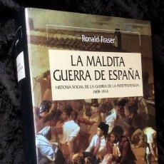 Libros de segunda mano: LA MALDITA GUERRA DE ESPAÑA - RONALD FRASER - CRITICA - . ISBN: 9788484327288. Lote 154523394