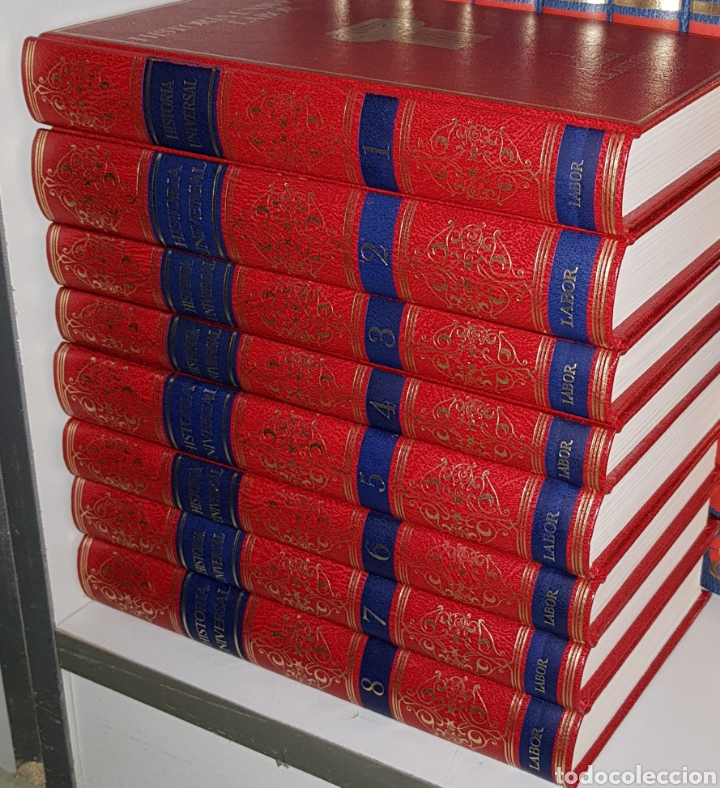 HISTORIA UNIVERSAL - LABOR - 8 TOMOS - ARM06 (Libros de Segunda Mano - Historia Moderna)