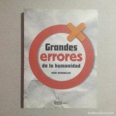 Libros de segunda mano: GRANDES HERRORRES DE LA HUMANIDAD. Lote 155707722