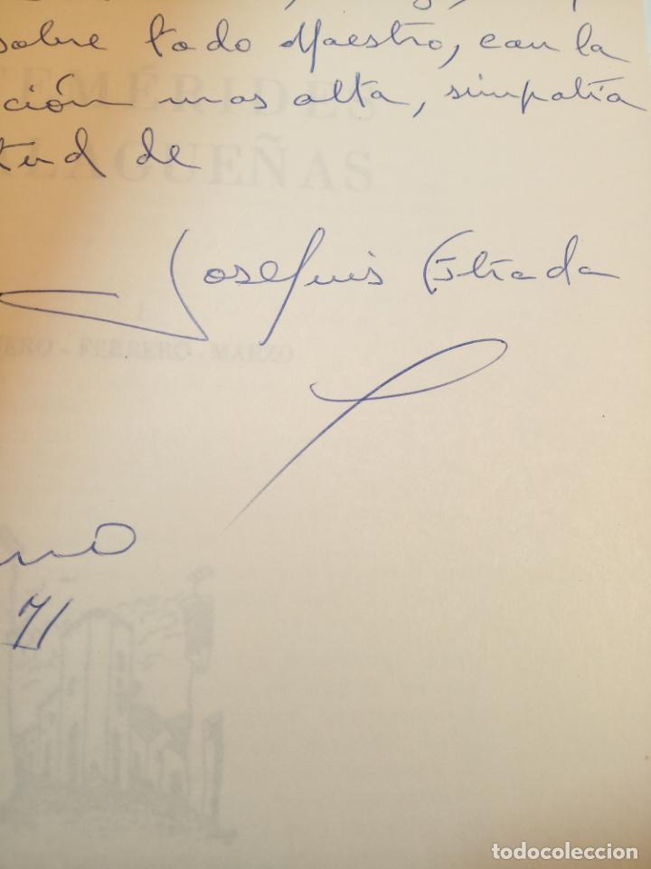 Libros de segunda mano: Efemérides Malagueñas. José Luis Estrada y Segalerva - 4 tomos. Málaga. 1970. Firmado y dedicado. - Foto 3 - 156005258
