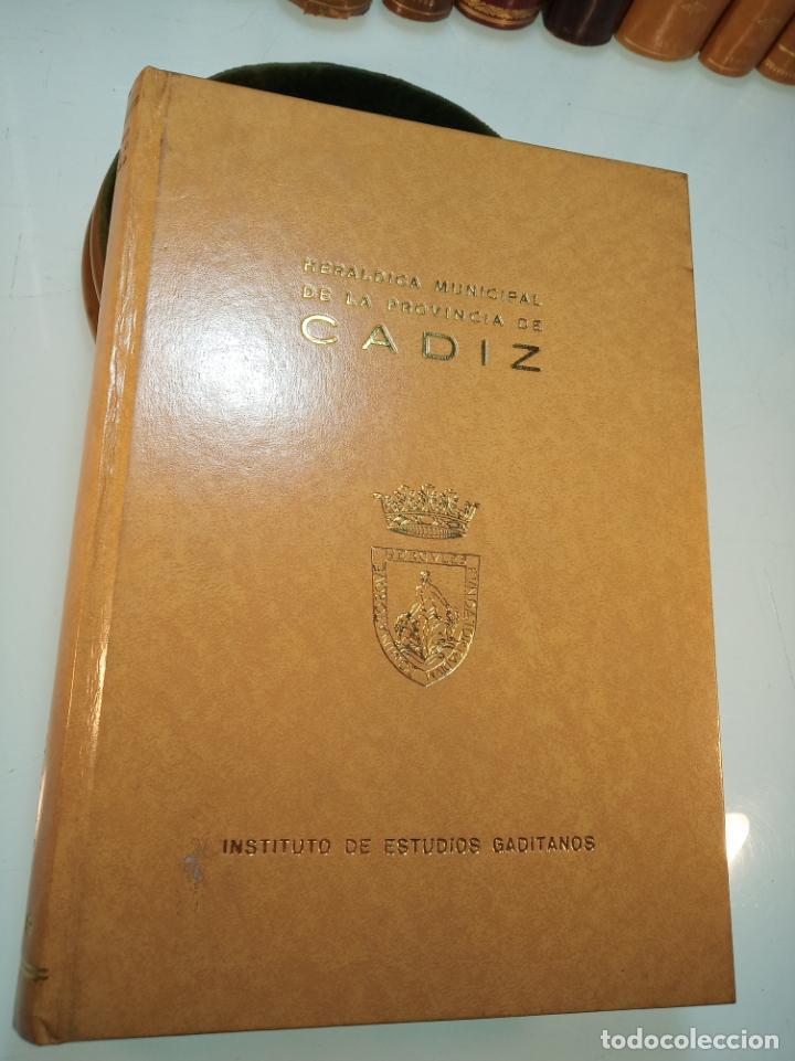 Libros de segunda mano: Heráldica municipal de la provincia de Cádiz. Jose Antonio Delgado. Inst. de estudios Gaditanos.1969 - Foto 2 - 156005794