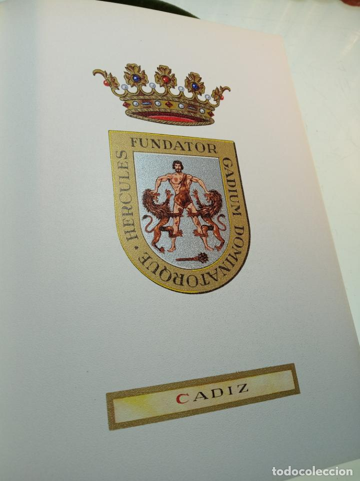 Libros de segunda mano: Heráldica municipal de la provincia de Cádiz. Jose Antonio Delgado. Inst. de estudios Gaditanos.1969 - Foto 8 - 156005794