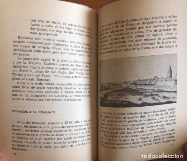 Libros de segunda mano: CARTAGENA- MURCIA- ORIHUELA- VIAJE DE ISABEL II- FERNANDO COS GAYON- 1.969 - Foto 4 - 278885113