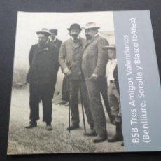 Libros de segunda mano: BSB TRES AMIGOS VALENCIANOS (BENLLIURE, SOROLLA Y BLASCO IBAÑEZ) . AYUNTAMIENTO. VALENCIA, 2013. Lote 156531536